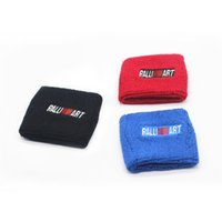 Wholesale 10pcs Black Red Blue Car Styling Ralliart Tank Covers Oil Catch Tank Cover Cap Sock For Mitsubishi