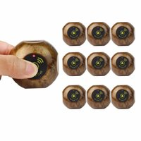 Wholesale Buttons Restaurant - 10pcs Call Transmitter Button Pager 433.92MHz Gold Wireless Restaurant Waiter Calling Paging System Waterproof F3227F