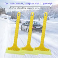 Wholesale 33cm Snow shovel Car Vehicle Durable Snow Ice Scraper Snow Brush Shovel Removal For Winter blue ABS Easy to use economical