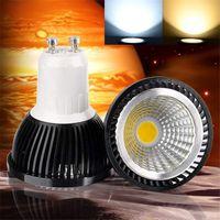 koç 12 v spot ışıkları toptan satış-Dim LED COB Ampul 6W 9 W 12W yüksek parlak Lambası GU10 E27 AC85-265V MR16 12V ışık Serin beyaz Spotlight downlight LED