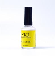 klebe nagelfolie großhandel-8 teile / los Weiß Nagel Kleber für Galaxy Star Folie Aufkleber Nail art 16 ml Transfer Dekoration Nägel Tipps Klebstoffe