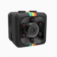 dv mega toptan satış-Sıcak Satış Mini HD-Mega Lens SQ11 DV HD 1080 P Mini Kamera Dijital DVR Hareket Algılama Kızılötesi Dışarı Kapı Spor Ses Video Kaydedici