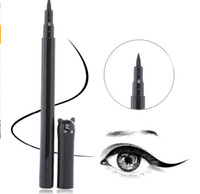 Wholesale cat tools - 1PC NEW Beauty Cat Style Black Long lasting Waterproof Liquid Eyeliner Eye Liner Pen Pencil Makeup Cosmetic Tool