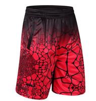 roupas secas rápidas para homens venda por atacado-Homens Plus Size Solto Calções Verão Meia GYM Quick Dry Esportes Atléticos Shorts Masculino Roupas