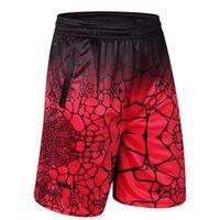 herren schwarze stöcke großhandel-Männer plus Größe lose Kurzschlüsse Sommer-halbe Turnhalle trocknen schnell athletische Sport-Kurzschlüsse männliche Kleidung
