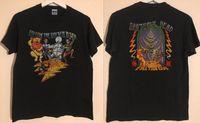 telas de carretera al por mayor-NUEVA RARA !! Grateful Dead Follow The Golden Road 1994 Fall Tour EE. UU. TAMAÑO S ~ 3XL tejido cómodo de estilo callejero camiseta para hombre