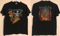 erkekler için örme gömlekler toptan satış-YENİ NADİR! Güzlü Ölü Altın Yolu Izlemek 1994 Güz Tour ABD BOYUTU S ~ 3XL örme rahat kumaş sokak tarzı erkekler t-shirt