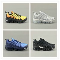Wholesale oil close - 2018 brand new TN plus casual shoes classic outdoor steam TN black and white sports impact shoes, men's request for olive oil, silver metal