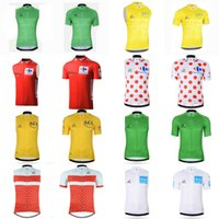 Wholesale tour france vests - TOUR DE FRANCE team Cycling Short Sleeves Sleeveless jersey Vest Bicycle Racing Clothing Quick-Dry Lycra Race MTB Bike D0729