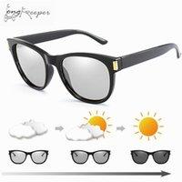 fahrrad sonnenbrille frauen großhandel-2018 neue marke sport photochrome polarisierte runde frauen brille radfahren brillen fahrrad sonnenbrille fahrrad reiten angeln sonnenbrille