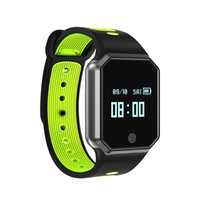 Wholesale heart rate monitors women - single-piece QW11 Smart Wristband Heart Rate Monitor Waterproof Fitness Tracker Bluetooth For Android IOS IP67 women men gps