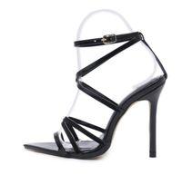 босоножки в стиле римского стиля оптовых-4 Цвета Горячий стиль продаж Sexy Lady сандалии лето новый Большой ботинок на высоком каблуке рыбий рот Римская романтика стиль