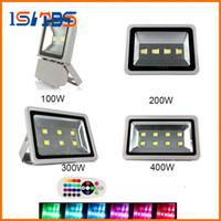 Wholesale Led Flood Lights Gas Station - Led Floodlights IP67 100W 200W 300W 400W High Power Outdoor flood light Led Gas Station Lighting Waterproof Led Canopy Lights AC 85-265V