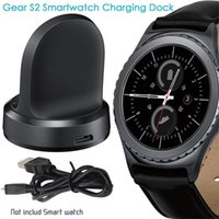 Wholesale Dock S2 - Hot For Samsung Gear S2 Smart Watch Wireless Charger Transmitter Fast charging Wireless charging Dock Pad Connected With USB Desktop