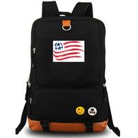 футбольные команды англия оптовых-Революция рюкзак Новая Англия рюкзак обороты футбольный клуб школьный футбол packsack команда рюкзак ноутбук мешок школы Открытый день пакет