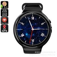 relógio inteligente ultra fino venda por atacado-I4 Air 3G Cartão SIM Smart Watch Phone Smartwatches Ultra Slim GPS para Homens e Casais IP68 À Prova D Água Suporte Multi Línguas