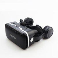 dhl sanal gerçeklik gözlükleri toptan satış-10 adet ücretsiz DHL Shinecon 6.0 Gözlük Sanal Gerçeklik Android Smartphone için Mobil VR 3D Gözlük Kulaklık KUTUSU iPhone