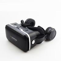 shinecon vr realidad virtual para smartphone al por mayor-10 piezas gratis DHL Shinecon 6.0 gafas realidad virtual móvil VR 3D gafas auriculares CAJA para Android teléfono inteligente iPhone