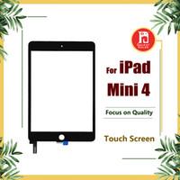 Wholesale ipad mini lcd digitizer - For iPad Mini 4 Touch Screen Glass LCD Panel Digitizer Replacement Front Glass for ipad mini4 Screen Repair Parts Brand New No Dust