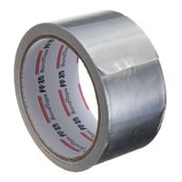 fita resistente a altas temperaturas venda por atacado-O adesivo de prata da fita da selagem da folha de alumínio resiste o duto repara a fita adesiva resistente da folha resistente de alta temperatura