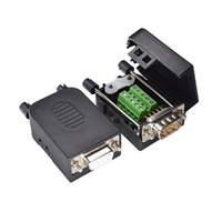 Wholesale ports terminals for sale - Group buy DB9 D Sub Connector Pin Connector to Screw Terminals RS232 Serial Port Adapter
