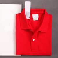 Wholesale Stand Collar Shirts Men - New Brand Polo Top quality Men Crocodile Embroidery POLO Shirts Cotton Short Sleeve Camisas Polos Casual Stand Collar Male Polos Shirt