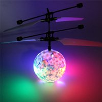 Wholesale JJRC Hot Sale Toy Multi Color EpochAir Flying Ball Drone Ball Built in Disco Music With Shinning LED Lighting for Kids Teenagers
