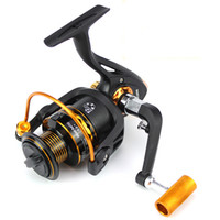 Wholesale bait systems online - All Metal Wire Cup Spinning Reel Ball Bearing Fishing Wheel Long Cast Spool Balanced Rotor System Fresh Saltwater Strong