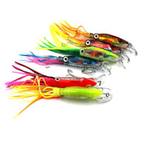 Wholesale fishing lures soft bait octopus resale online - Outdoors Octopus Plastic Beard Tassels Fake Bait Offshore Angling Long Shot Bionics Baits Artificial Fishing Lure Silicone hb dd