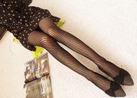 модные колготки девушки оптовых-Fashion Womens Lady Girls Black Sexy Fishnet Paern Jacquard Stockings Pantyhose Tights Styles Woman 1pcs dww03