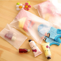 Wholesale travel accessories pouch for sale - Group buy Underwear Set Clothes Organizer Finishing bag Seal Transparent Waterproof Cosmetics Wash bag Travel accessories cm poly pouches