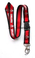 Wholesale records logos online - New pattern The red key chain with basketball team LOGO can also be used for hanging mobile phones cameras