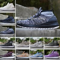 2018 Hiver Ultra boost ATR Mid Triple Noir Blanc Hommes Chaussures de Course Trace Kaki Oreo ultraboost 3.0 Womens sport Sneakers US 5-11