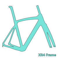 Wholesale carbon race frame - 2018 XR4 carbon fiber bicycle frame Di2&Mechanical racing bike carbon road frame+fork+seatpost+headset DPD duty free shipping
