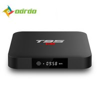 Wholesale ddr3 cpu - New Arrival T95 S1 Set-top TV Box 2GB RAM DDR3 16GB Android 7.1 Amlogic S905W Quad-core CPU 2.4GHz WiFi ROM 4K Media Player