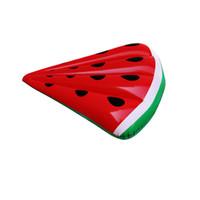 material de melancia venda por atacado-melancia colchão de inflação do ar adulto piscina de montagem float cama rosa design eco friendly material de PVC mulher natação float mat