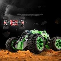 halbkörper spielzeug großhandel-1/10 2,4 GHz halben Meter Körper doppelseitige RC Auto ein Schlüssel Transformation Geländewagen Klettern Auto Fernbedienung Spielzeug