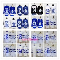 Wholesale Gold Leafs - 2018 stadium series Toronto Maple Leafs 34 Hockey jersey 16 Mitch Marner 44 Morgan Rielly 31 Frederik Andersen 29 William Nylander Jersey