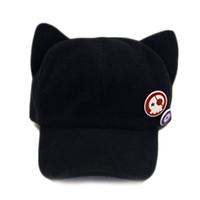 gorras planas lindas al por mayor-Gorro de vendedor de periódicos negro  para mujer Otoño 11b21b67dbd