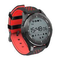 ingrosso braccialetto verde della macchina fotografica-2018 New Fashion NO.1 F3 Smart Watch Bracciale IP68 impermeabile Smartwatches Modalità esterna Fitness Sport Tracker Promemoria Wearable Devices