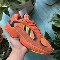 release date: d002c 345a9 2018 nuevo Yung 1 Kanye West 700 Malla de cuero genuino Amortiguador  inferior grueso Zapatillas para correr Originales Yung-1 700 Wave Runner  Zapatillas ...