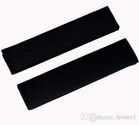 black seat belts 2018 - 2pcs Auto Child cotton Safety belt for cars Shoulder Protection car-styling cinto pad on the seat belt cover seat belts pillow