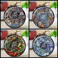 ingrosso scatola a forma di chiave-Creativo Mini monete borsa cerniera chiavi auricolare Xmas Coin Pouch Bag bambini giocattoli e regali scatola Natale pendente appeso decorazione con portachiavi