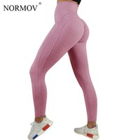 Wholesale clothing jeggings for sale - NORMOV Sexy Push Up Leggings Women Workout Clothing Heart High Waist Leggins Female Breathable Patchwork Jeggings Activewear