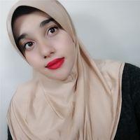 ingrosso sciarpa araba nera-Donne di alta qualità solido pianura bolla chiffon hijab sciarpa avvolge morbido lungo islam foulard scialli musulmano georgette sciarpe hijab spedizione gratuita