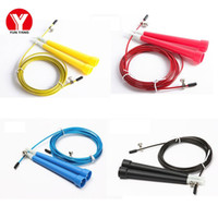 Wholesale Fitness Cords - 3M Adjustable JUMP ROPE STEEL WIRE Jump Steel Rope Skipping Wire Cord Speed Fitness Skipping Rope Exercise Equipment Sports