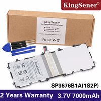 Wholesale li polymer battery for tablets for sale - Group buy KingSener Sp3676b1a s2p For Samsung Galaxy Note Tab P5100 P5110 P7500 P7510 N8000 N8010 N8013 Tablet Battery mAh