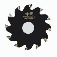 Wholesale Cut Diameter - Mini Circular Saw Blade Diameter 63mm Alloy Steel 12-Teeth Wheel Discs 16mm Aperture For Wood Aluminum Metal Plate Cutting Tool