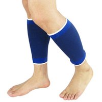 Wholesale 1 pair Leg Wammers Support Gym Running Protection Foot Bandage Elastic Leg Brace Guard Sport Fitness Support