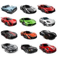 детские развивающие игрушки оптовых-2018 Hot Wheels Cars 1:64 Ducati Fast and Furious Diecast Cars NISSAN Модель спортивного автомобиля Hotwheels Мини-коллекция игрушек для мальчиков